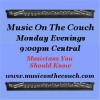 """Kevin Selfe interview on """"Music On The Couch"""""""