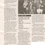 Article from Maryville, TN (w/Little Rodger)